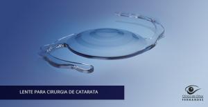 lente para cirurgia de catarata