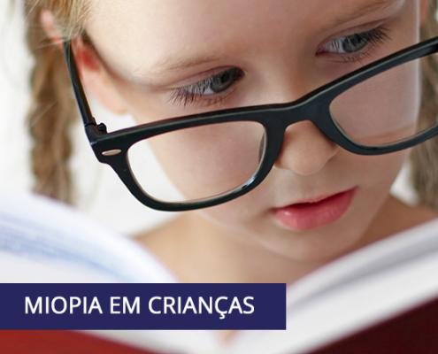 Miopia em crianças