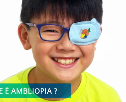 o que é ambliopia