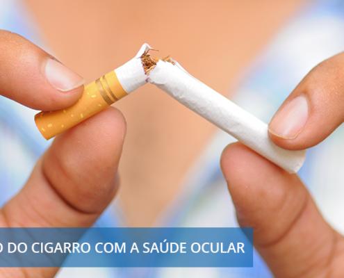 ue o cigarro faz mal para a saúde é um fato. Mas você sabia que ele também traz malefícios para a saúde ocular? Saiba qual é a relação do cigarro com a saúde ocular.